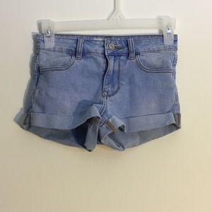 Pacsun High Rise Super Stretch Jean Shorts